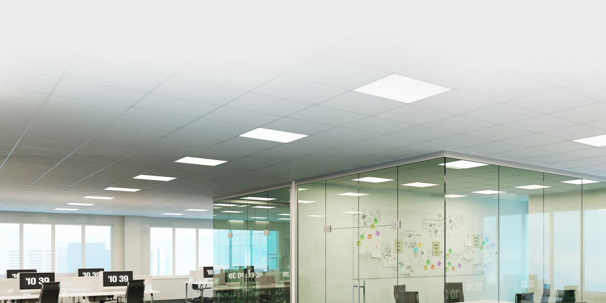 CIS Slider Accoustic Ceiling Pads for Modular Buildings and Offices