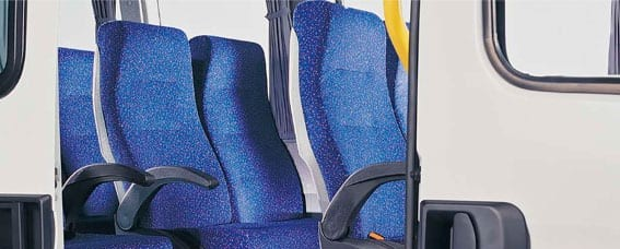 Insulation for train seats